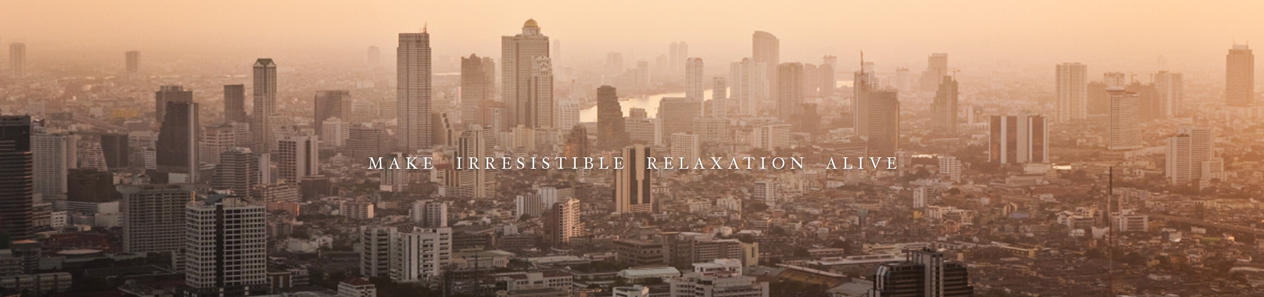 Make irresistable relaxation alive